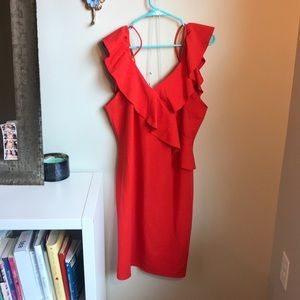 Beautiful body con cold shoulder dress